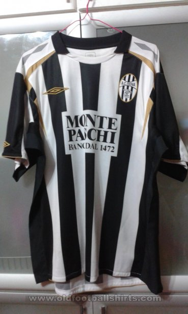 Siena Home football shirt 2007 - 2008