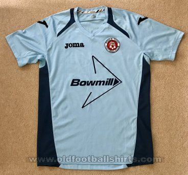 Poole Town Uit  voetbalshirt  (unknown year)