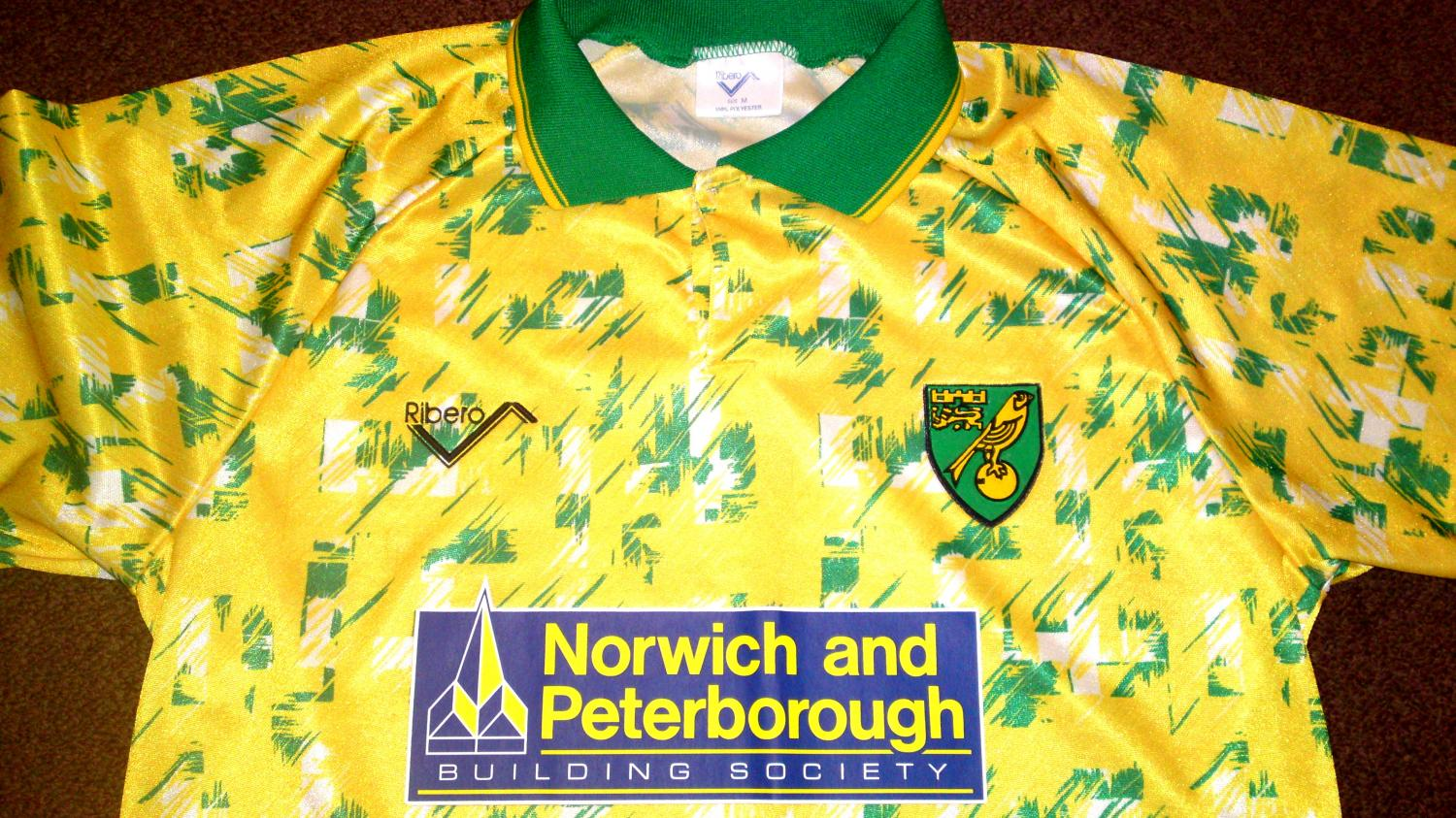 Norwich city home football shirt 1992 1994 added on for Classic house 1992