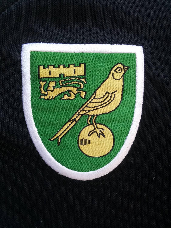 Norwich city ext rieur maillot de foot 2008 2009 ajout for Maillot exterieur