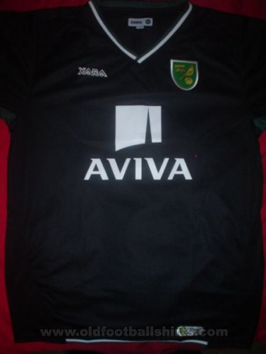 Norwich City Away football shirt 2008 - 2009