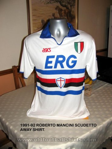 Sampdoria Away football shirt 1991 - 1992