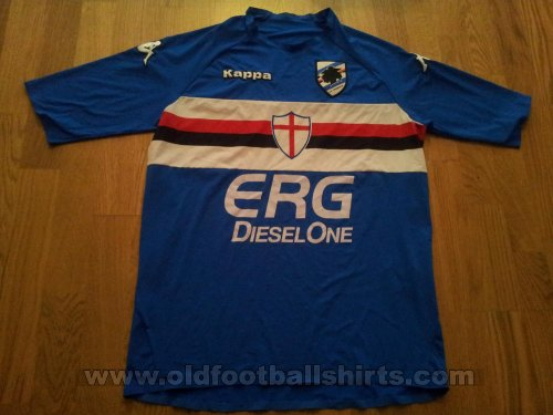 Sampdoria Home футболка 2005 - 2007