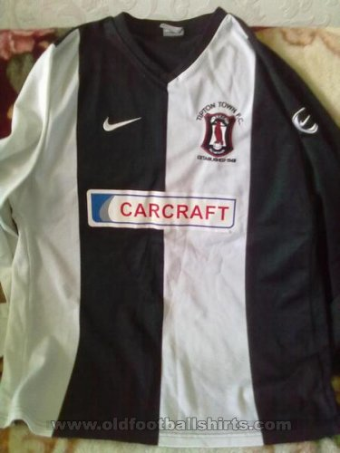 Tipton Town F.C. Home football shirt (unknown year)