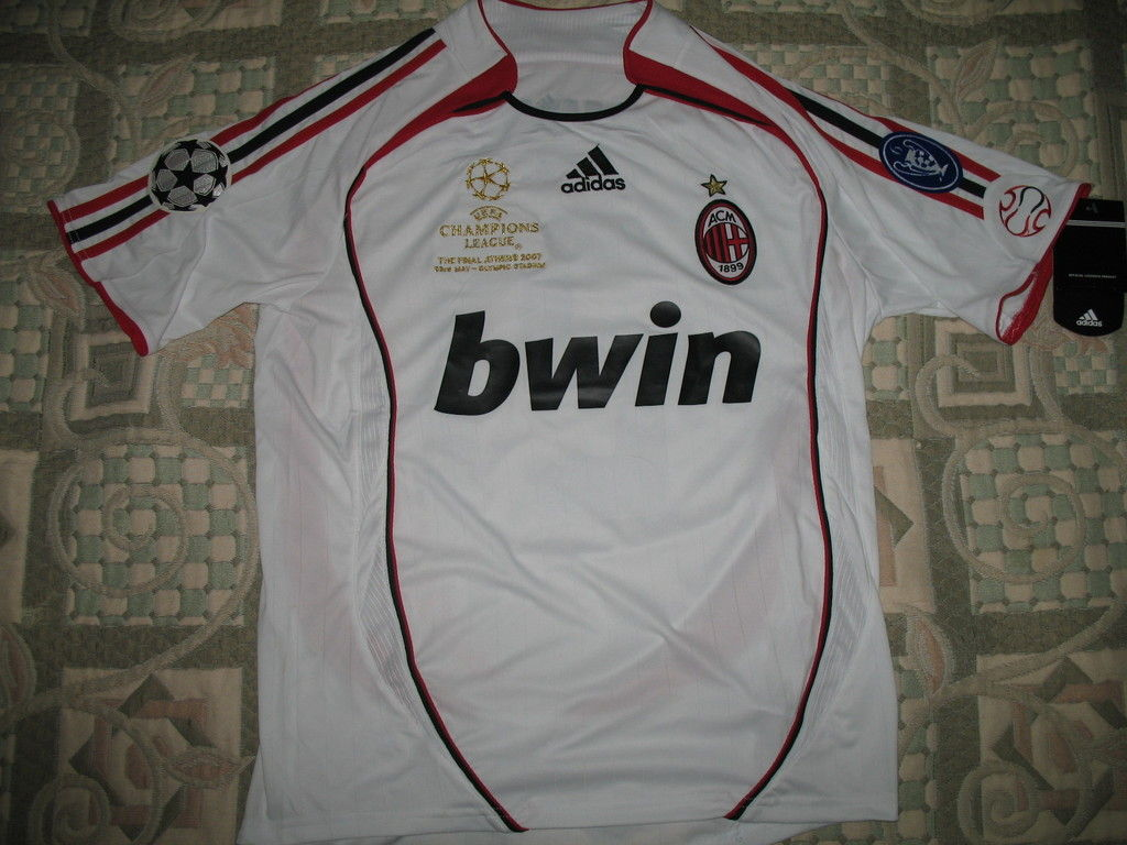 AC Milan Cup Shirt football shirt 2006 - 2007. Added on ...
