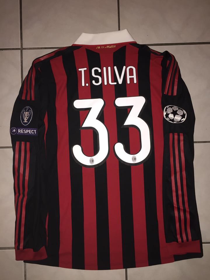 9502ab400 AC Milan Cup Shirt חולצת כדורגל 2009 - 2010. Sponsored by no sponsor
