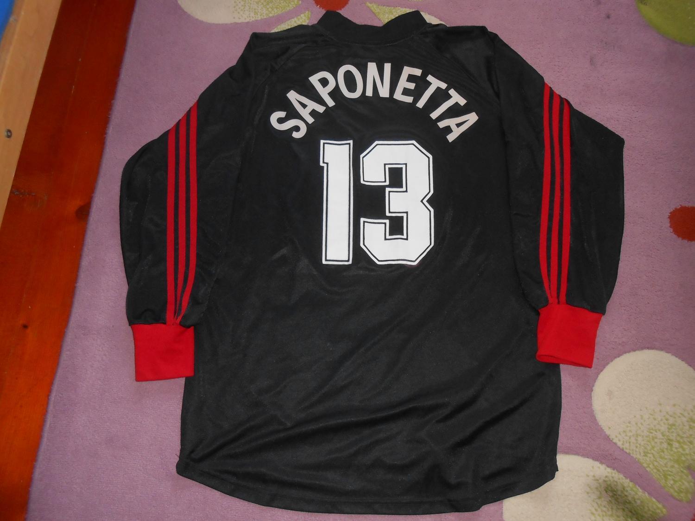 9a302e1abe70 AC Milan Goalkeeper maglia di calcio 2001 - 2002. Sponsored by Opel