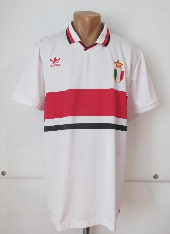 5a6c42376 AC Milan Retro Replicas חולצת כדורגל 1990 - 1992.