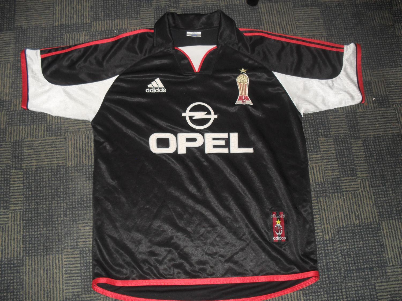 AC Milan Third maglia di calcio 1999 - 2000. Sponsored by Opel 0f3fc3248