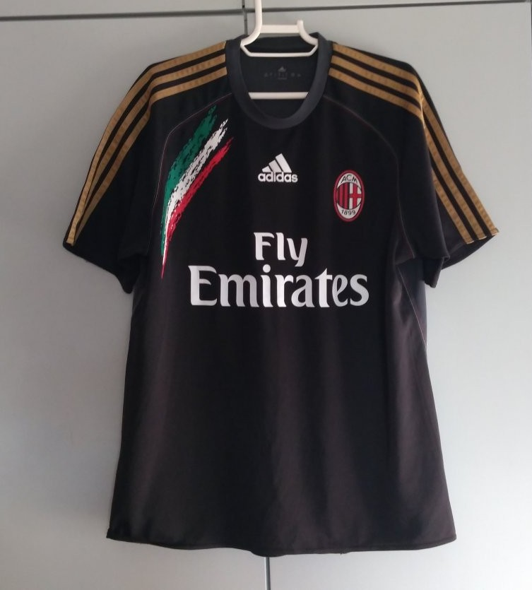 AC Milan Allenamento/Leisure maglia di calcio 2013 - 2014.