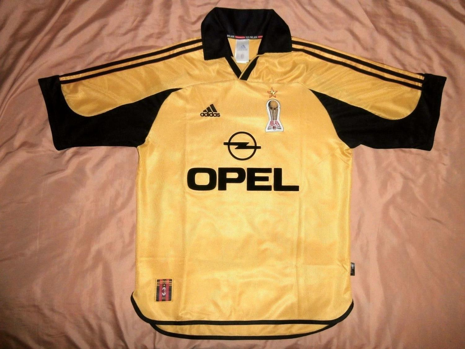 AC Milan Special Maillot de foot 1999 - 2000. Sponsored by Opel 41fa84cc2