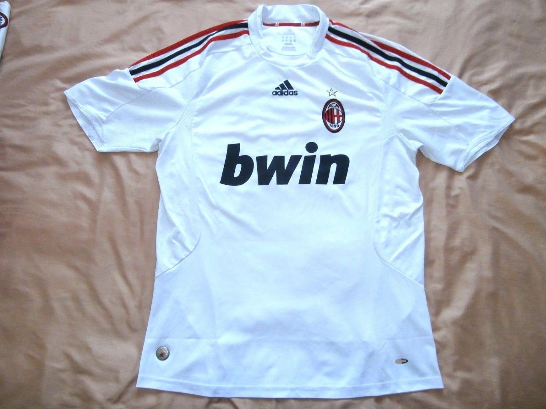 AC Milan Away football shirt 2008 - 2009. Sponsored by Bwin