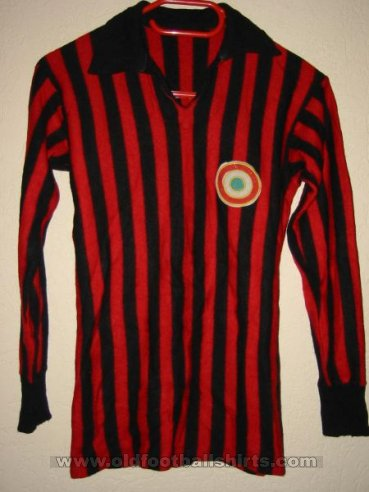 AC Milan Home football shirt 1968 - 1969