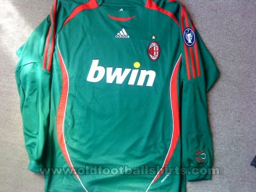 AC Milan Goalkeeper football shirt 2007 - 2008