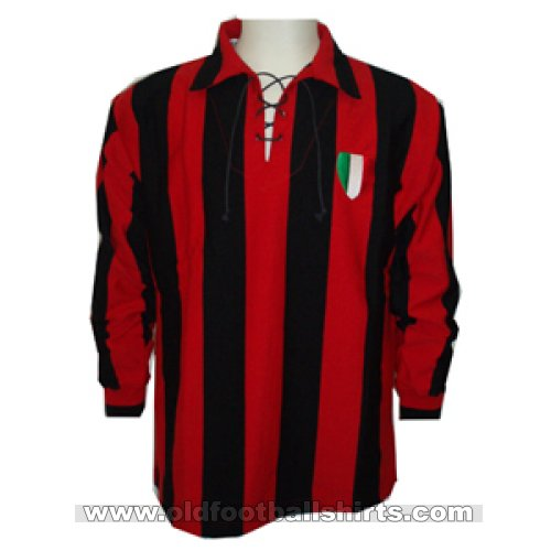AC Milan Retro Replicas football shirt 1950