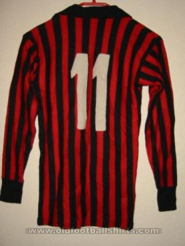 AC Milan Home football shirt 1967 - 1968