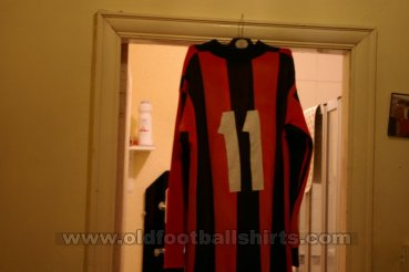 AC Milan Home Maillot de foot 1960 - 1969