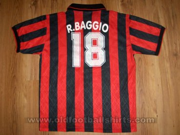 AC Milan Home football shirt 1995 - 1996