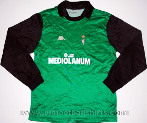 AC Milan Goalkeeper football shirt 1989 - 1990