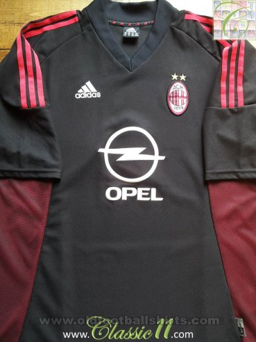 AC Milan Third football shirt 2002 - 2004