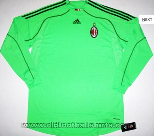 AC Milan Goalkeeper football shirt 2009 - 2010