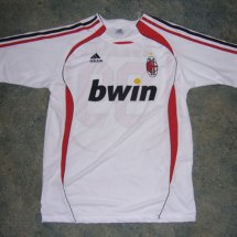 AC Milan Home football shirt 2006 - 2007 sponsored by Bwin