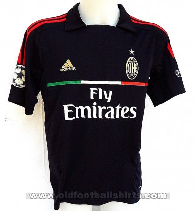AC Milan Third football shirt 2011 - 2012