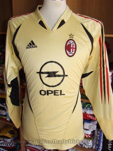 AC Milan Goalkeeper football shirt 2004 - 2005