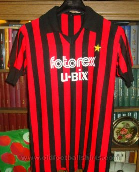 AC Milan Home football shirt 1985 - 1986