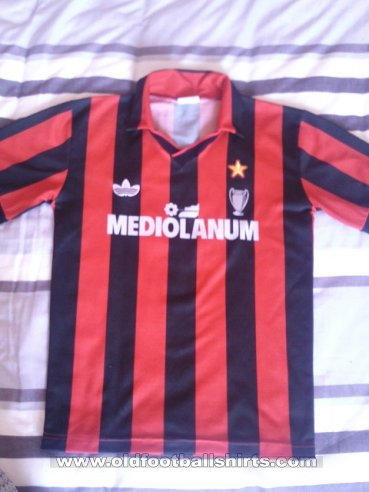 AC Milan Home football shirt 1991 - 1992