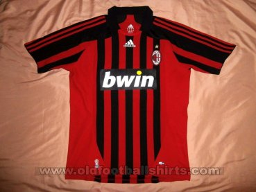 AC Milan Home football shirt 2007 - 2008