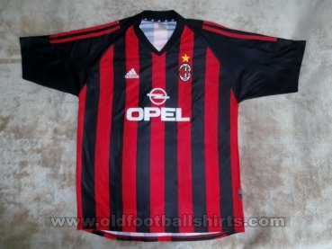 AC Milan Home football shirt 2002 - 2003