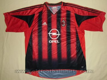 AC Milan Home football shirt 2004 - 2005