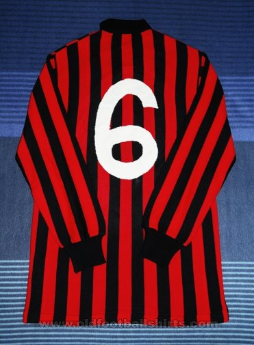 AC Milan Home football shirt 1983 - 1984