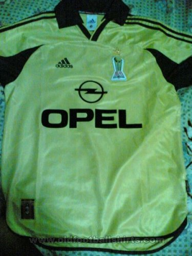 AC Milan Away football shirt 1998 - 1999
