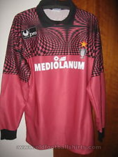 AC Milan Goalkeeper football shirt 1990 - 1991