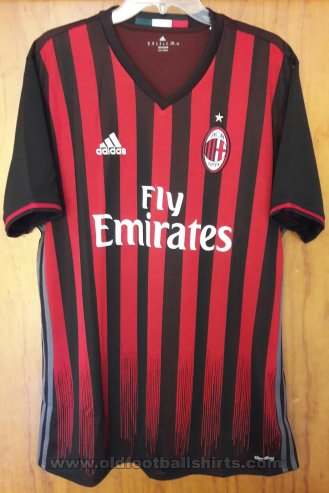 AC Milan Home Maillot de foot 2016 - 2017