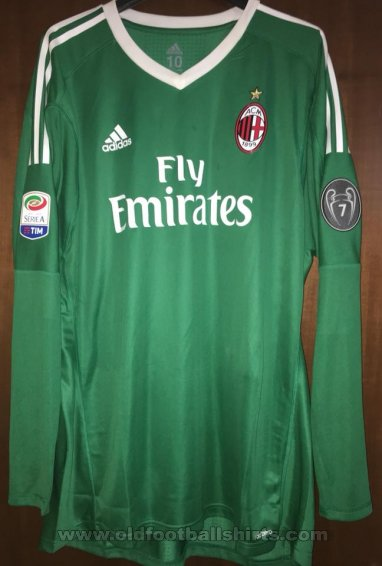 AC Milan Goalkeeper football shirt 2017 - 2018
