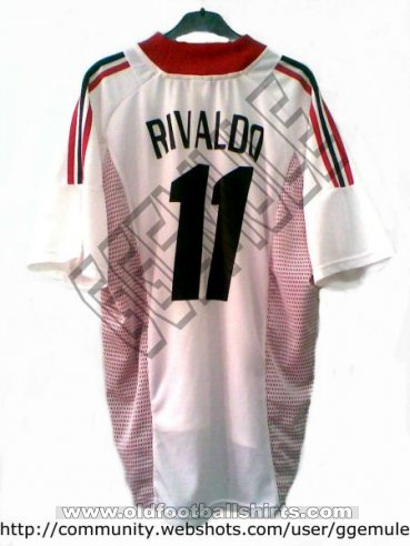 AC Milan Away football shirt 2002 - 2003