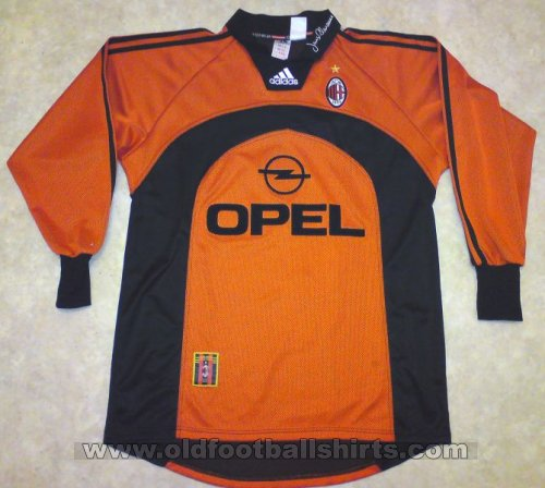AC Milan Goalkeeper football shirt 1998 - 1999