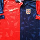 Cagliari football shirt 1990 - 1992