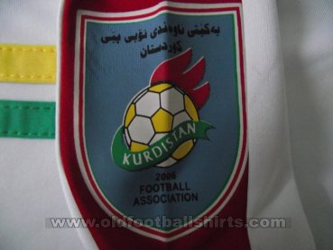 Iraqi Kurdistan Home football shirt 2006 - 2014