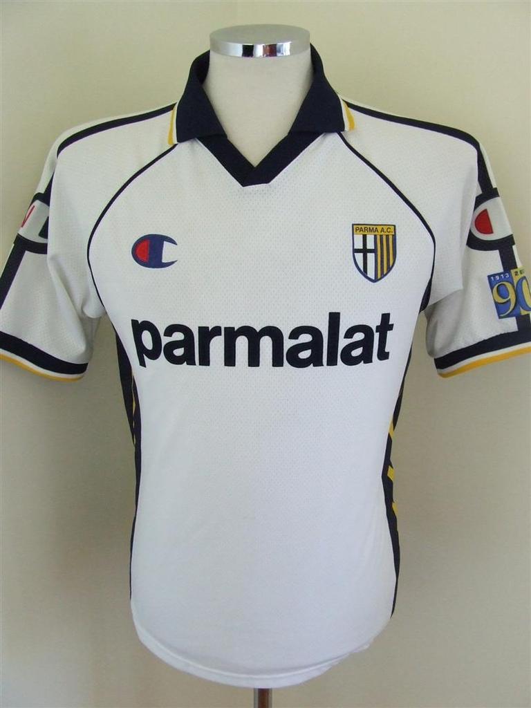 Parma Away football shirt 2003 - 2004.