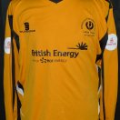 Largs Thistle football shirt 2009 - 2010