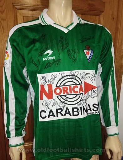 Eibar Away football shirt 2002 - 2003