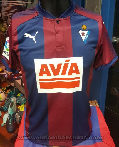 Eibar Home football shirt 2017 - 2018