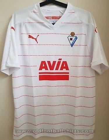 Eibar Away football shirt 2018 - 2019. Sponsored by Avia