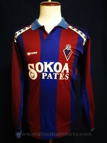 Eibar Home football shirt 1991 - 1992