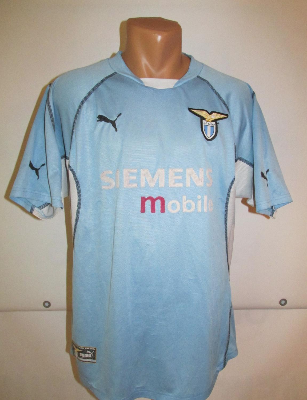 Lazio Home Camiseta de Fútbol 2001 - 2002. b3881df2ce1f7