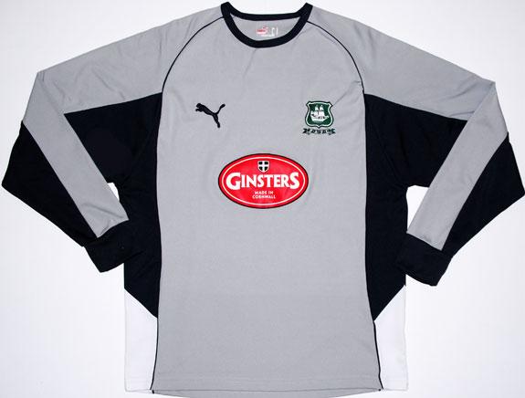 Plymouth Argyle Goalkeeper Football Shirt 2006 2007